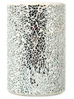 Silver Crackle Warming Shade