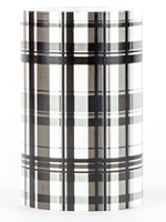 Black Plaid Warming Shade
