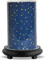 Starry Night Simmering Light with Black Base