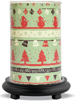 Holiday Cheer Simmering Light with Black Base