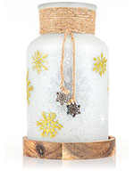 Falling Snow Accent Shade