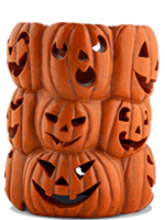 Stacked Pumpkins Accent Shade