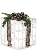 Faux Fur Present Accent Shade
