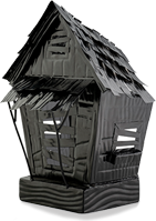 Haunted House Accent Shade