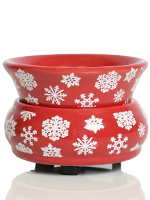 Red Snowflake Simmer Pot