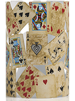 Playing Cards Accent Shade