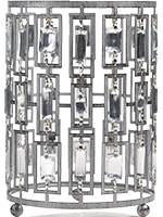 Silver Bling Accent Shade