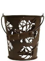 Bucket of Leaves Accent Shade