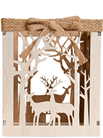Wood Forest Accent Shade