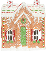 Candied Gingerbread House Accent Shade
