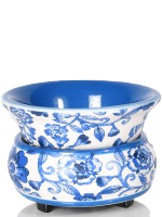 Blue and White Floral Simmer Pot