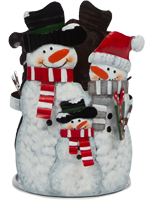 Snow Family Accent Shade
