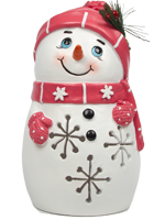Snowgirl Accent Shade