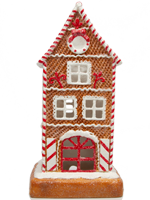 Peppermint Gingerbread House Accent Shade