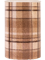 Brown Flannel Warming Shade