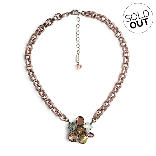 Sabika Jewelry - NEW OPULENCE Collector's Modern Flower Necklace