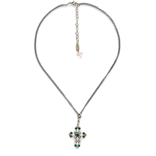 Sabika Jewelry - Holiday 2019 Collector's Chain Necklace with Detachable Cross Pendant